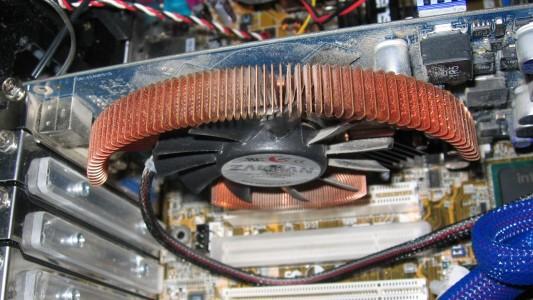 nVidea GeForce 6600GT mit Zalman VF-700-Cu