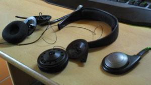 Reparatur eines Sennheiser PC 151-Headsets