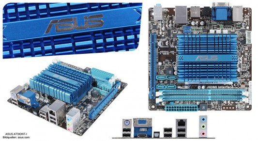 ASUS AT3IONT-I mini-ITX Motherboard