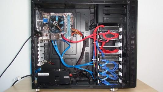 Installierte Hardware im NAS