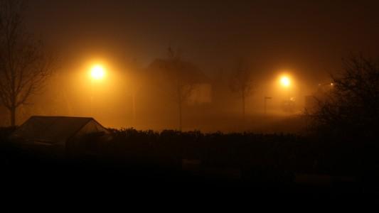 Nebel in Schweich